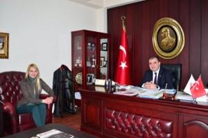 AVUKATLAR SENDİKASI'NIN ADANA BAROSU'NA ZİYARETİ