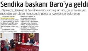 adana gazete haberimiz